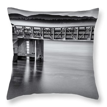 Rolling Fog Throw Pillow