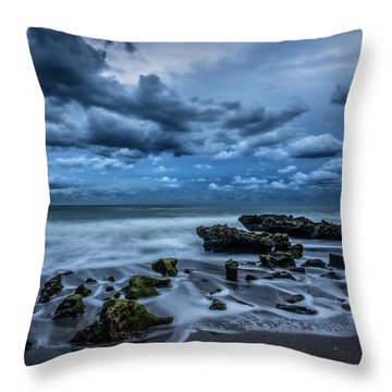 Throw Pillow featuring the photograph Rolling Thunder by Debra and Dave Vanderlaan