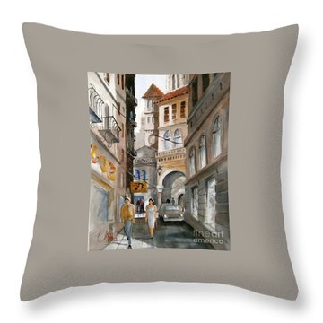 Roma 01 Throw Pillow
