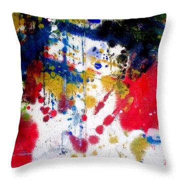 Romak Abstract Throw Pillow
