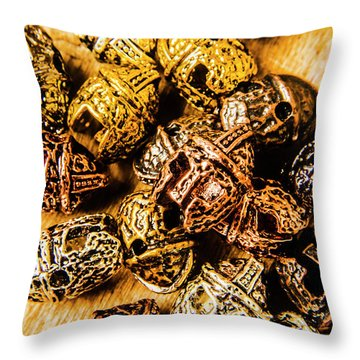 Roman Armoury Den Throw Pillow