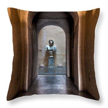 Roman Entry Throw Pillow