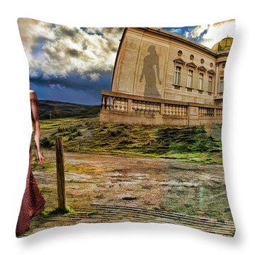 Roman Goddess Throw Pillow by Blake Richards
