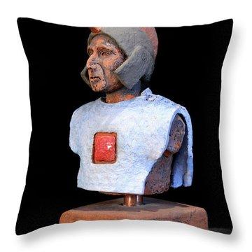 Roman Legionaire - Warrior - Ancient Rome - Roemer - Romeinen - Antichi Romani - Romains - Romarere  Throw Pillow