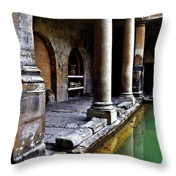 Roman Pillars  Throw Pillow