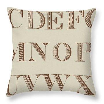 Roman Shaded, Various  Throw Pillow