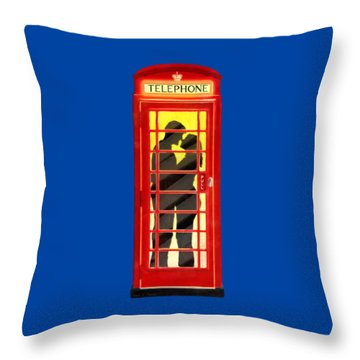 Romance In London By Starlight Throw Pillow