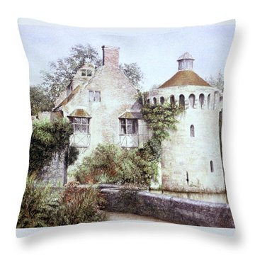 Romance In Ruin Throw Pillow