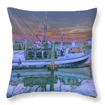 Romance Of The Sea Throw Pillow
