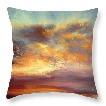 Romance Throw Pillow by Valerie Travers