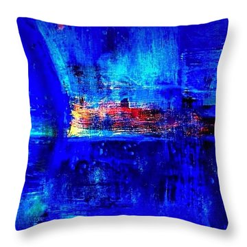 Romancing The Arctic Dedicated  Throw Pillow