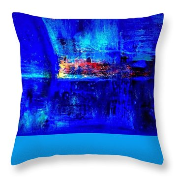Romancing The Arctic Throw Pillow by VIVA Anderson
