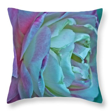 Romancing The Restless Throw Pillow by Gwyn Newcombe