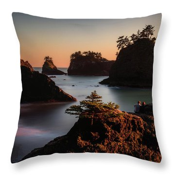 Romancing The Stone Throw Pillow