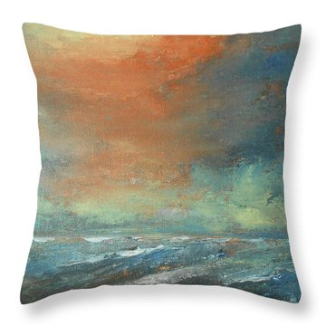 Romancing Turner Throw Pillow