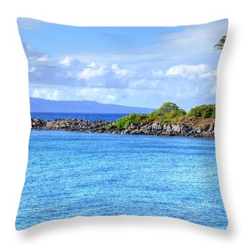 Throw Pillow featuring the photograph Romantic Kapalua  by Kelly Wade