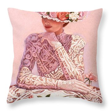 Lace Throw Pillows