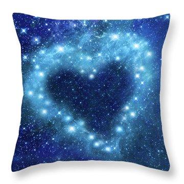 Romantic Night Throw Pillow