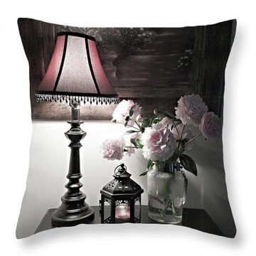 Romantic Nights Throw Pillow