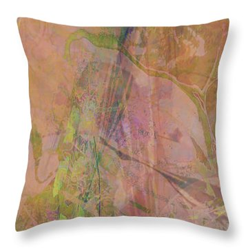 Romantic Rainbow Throw Pillow