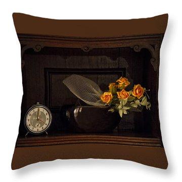 Romantic Still Life Throw Pillow
