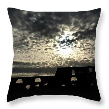 Rome Italy - Colloseum Throw Pillow