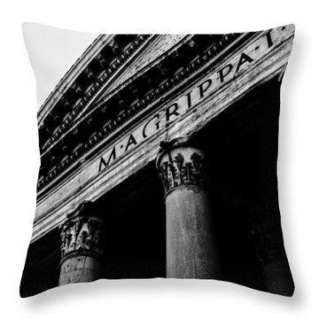 Rome - The Pantheon Throw Pillow
