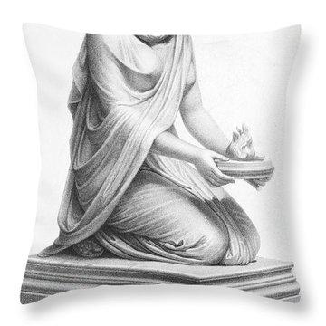Rome: Vestal Virgin Throw Pillow by Granger
