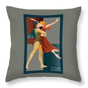 Romeo And Juliet Ballet Throw Pillow