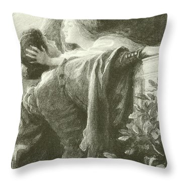 Romeo And Juliet Throw Pillows