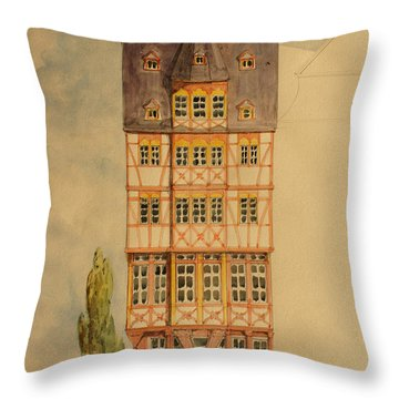 Frankfurt Throw Pillows