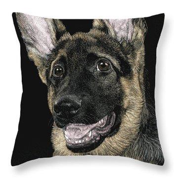Rommel Throw Pillow