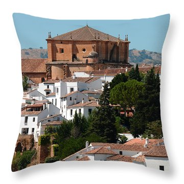 Ronda. Andalusia. Spain Throw Pillow