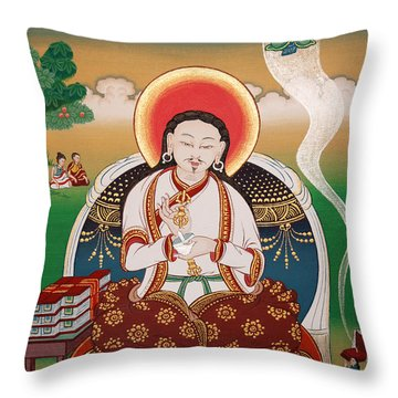 Rongzom Chokyi Zangpo  Throw Pillow by Sergey Noskov