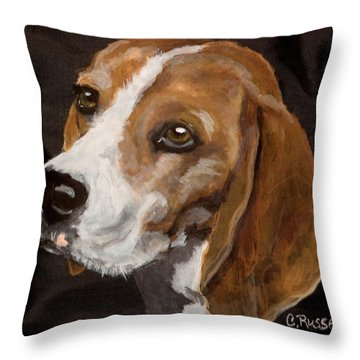 Ronny 2 Throw Pillow