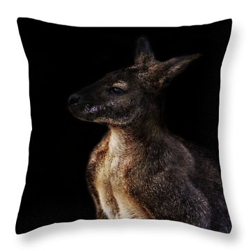 Roo Throw Pillow by Martin Newman