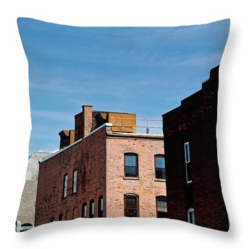 Rooflines No. 2 Throw Pillow