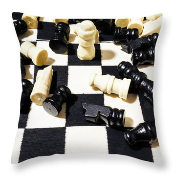 Rook Of The Year Throw Pillow