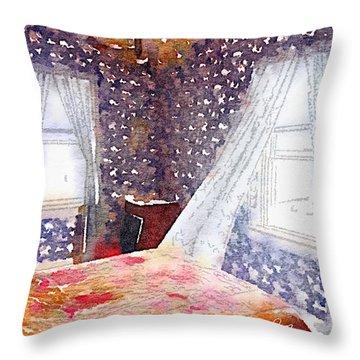 Room 803 Throw Pillow