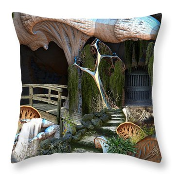 Room For Expansion Throw Pillow