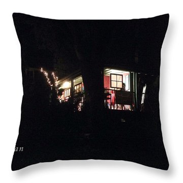 Throw Pillow featuring the photograph Room In The Sky by Felipe Adan Lerma