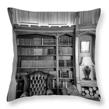 Throw Pillow featuring the photograph Room Of Relaxation by Christi Kraft