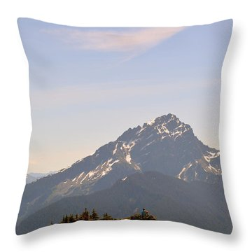 Room To Think Throw Pillow