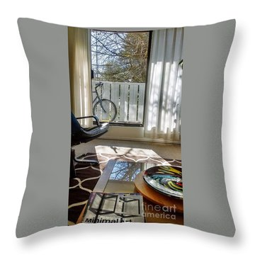Throw Pillow featuring the photograph Room With A View by Bill Thomson