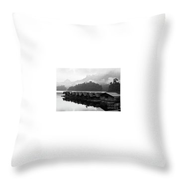 Room With A View - Kho Sok Thailand Throw Pillow