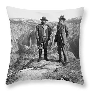 Roosevelt & Muir Throw Pillow by Granger