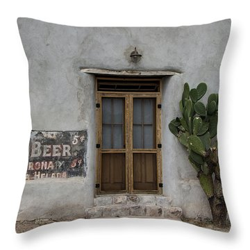 Root Beer And Chardonnay? Throw Pillow