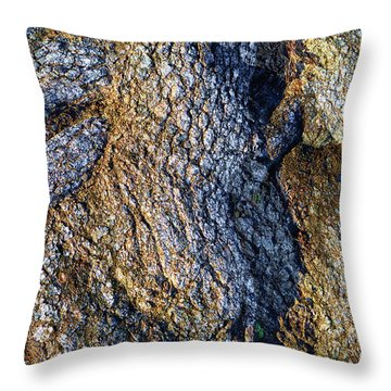Throw Pillow featuring the photograph Root Waves by Glenn McCarthy Art and Photography