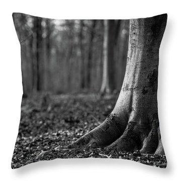 Throw Pillow featuring the photograph Rooted by Will Gudgeon
