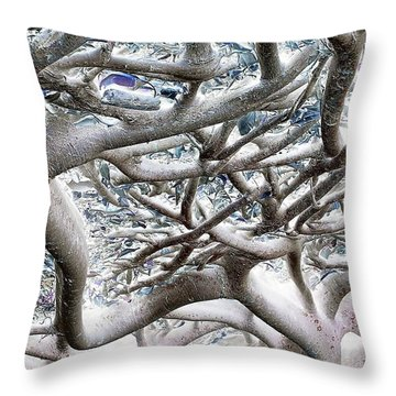 Roots With Attitude Throw Pillow
